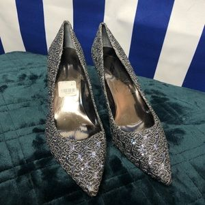 J. Renne beautiful rhinestone heels.